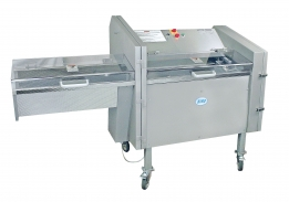 Model 109PCM Mechanical Horizontal Slicer Optional Take-away Conveyor not shown