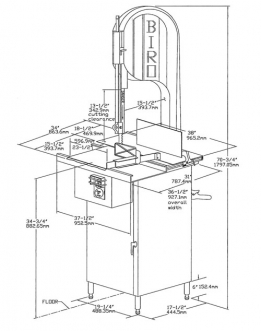 Illustration A – Model 3334SS Standard Configuration