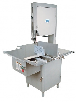 (Design B) Model 44SSFH-LP-FS-R Stainless Steel, Fixed Head, Low Profile, High Speed Fish Steaking/Retailing