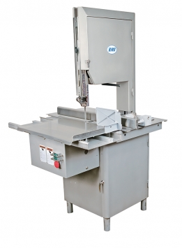 (Design A) Model 44SSFH-LP-PGF Stainless Steel, Fixed Head, Low Profile, High Speed, Precision Gauge Fence for Frozen Fish Block Portion Control Fish Products