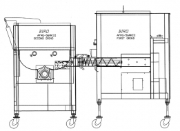 Right to left tandem system