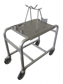 Optional (EC) accessory cleaning/ drying/storage rack (A57203), cart not included